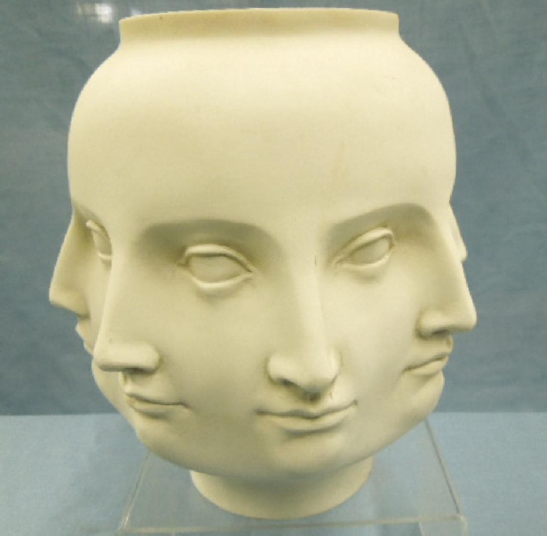 Piero Fornasetti Style Multi Face Vase - 2