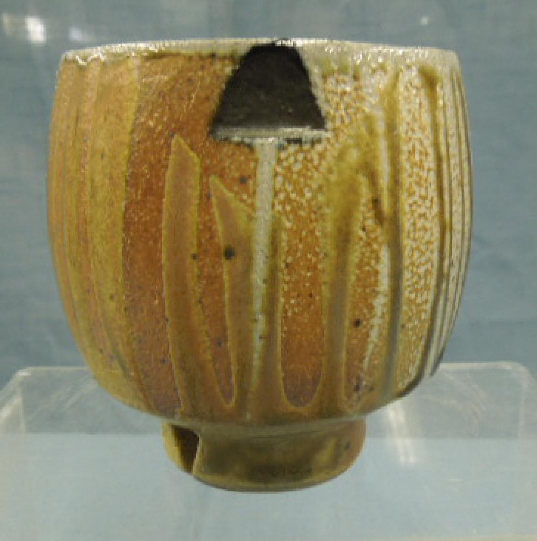 Jeffrey Oestreich Studio Pottery Vase