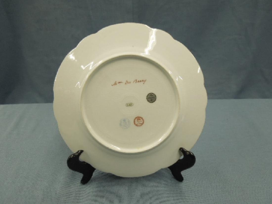 Sevres Porcelain Madame Du Barry Plate - 3