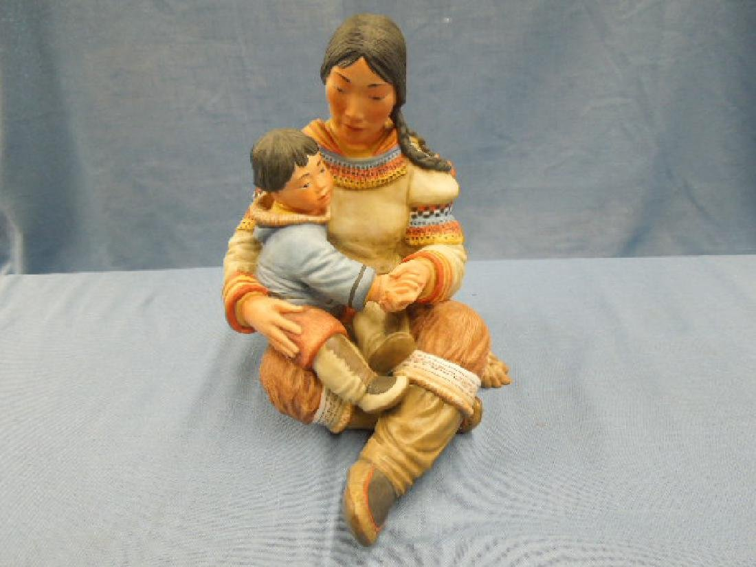 Kaiser Porcelain Motherhood Figure