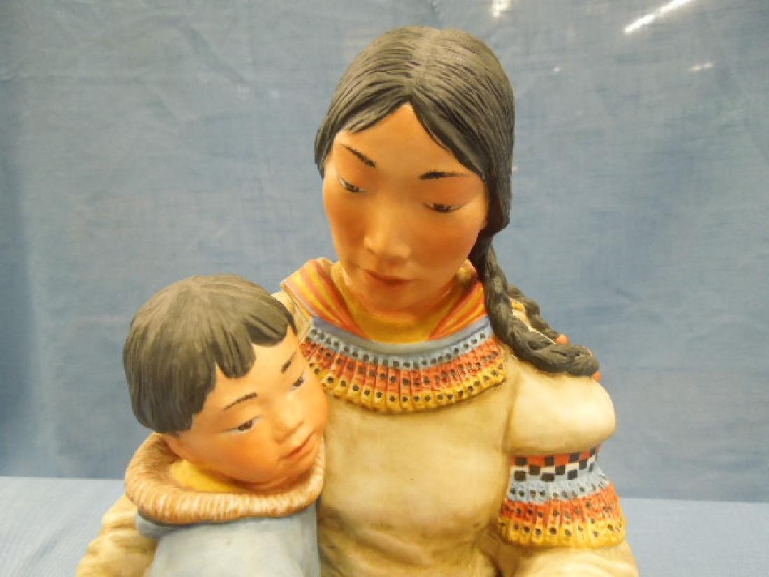 Kaiser Porcelain Motherhood Figure - 2