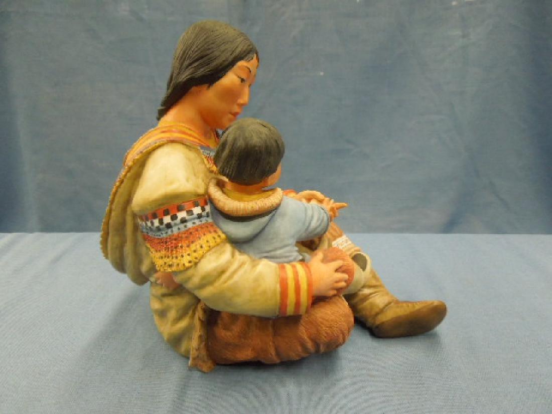 Kaiser Porcelain Motherhood Figure - 5