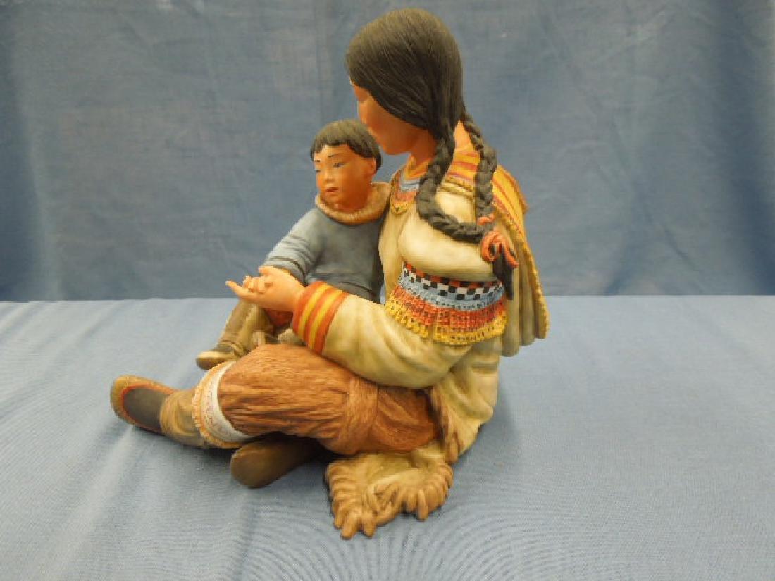 Kaiser Porcelain Motherhood Figure - 6
