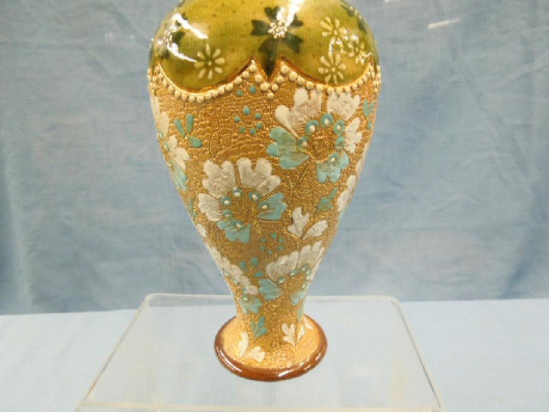 Doulton Lambeth Tapestry Vase - 3