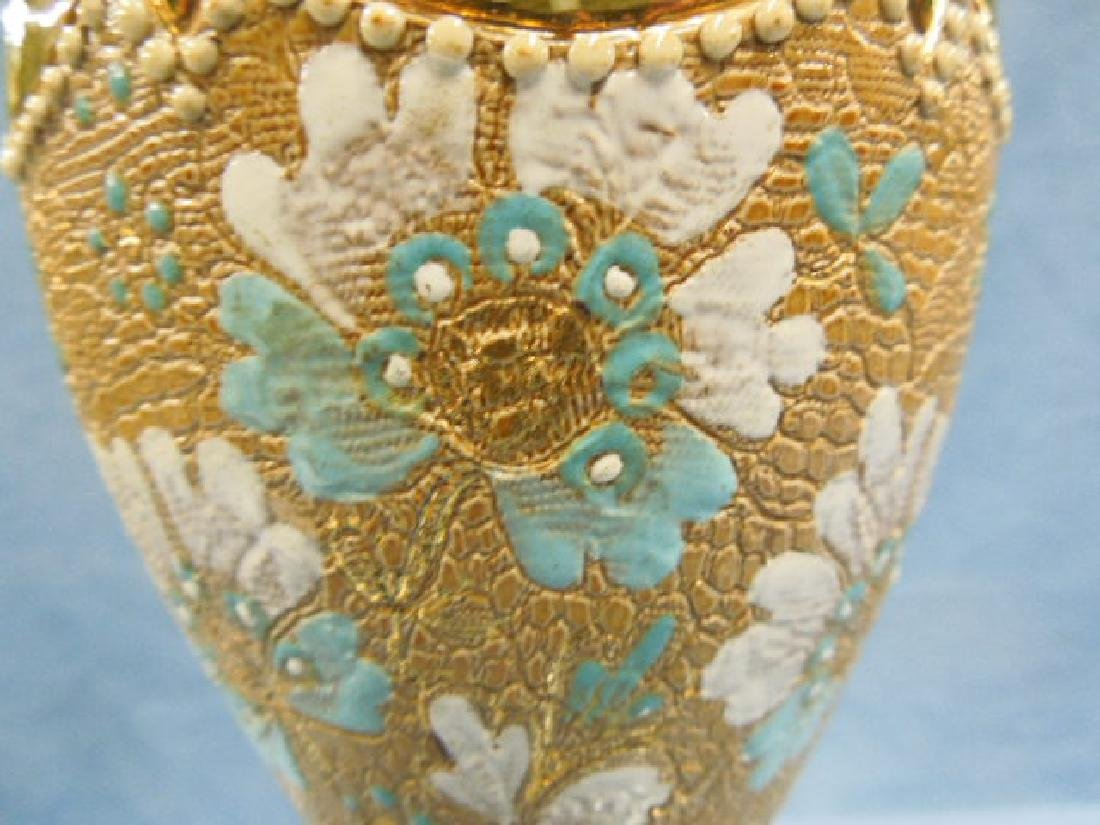 Doulton Lambeth Tapestry Vase - 6