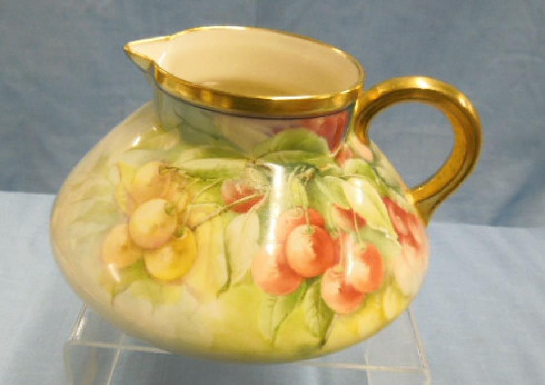 Willets Belleek Porcelain Cider Pitcher