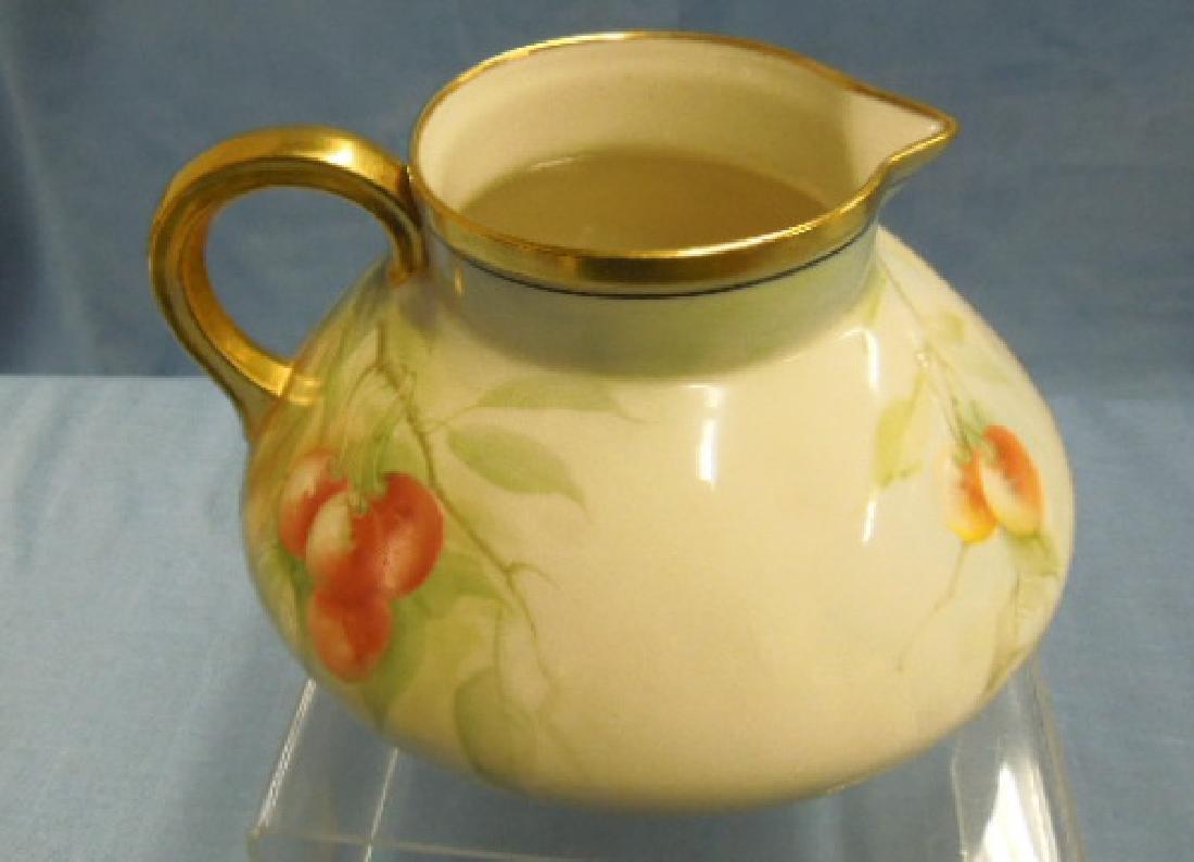 Willets Belleek Porcelain Cider Pitcher - 2