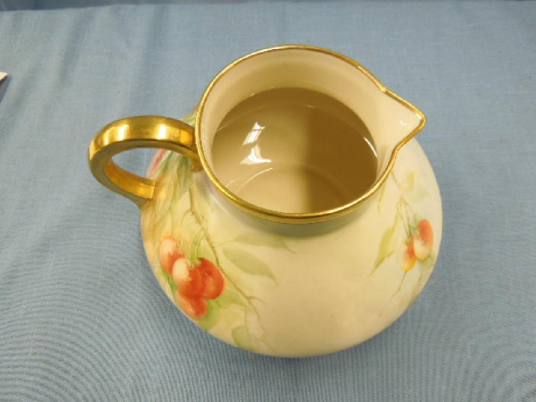 Willets Belleek Porcelain Cider Pitcher - 3