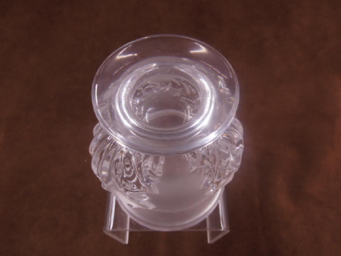 Lalique Crystal Saint-Cloud Vase - 4