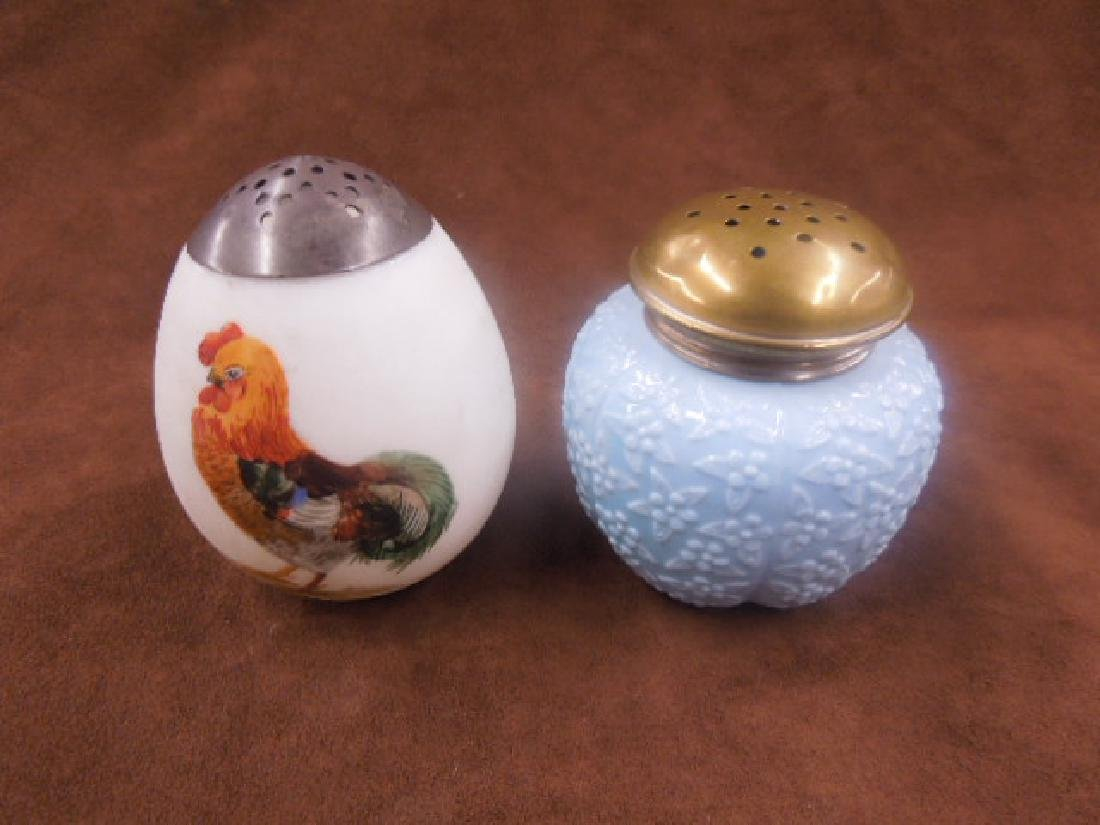 Victorian Glass Sugar Shakers