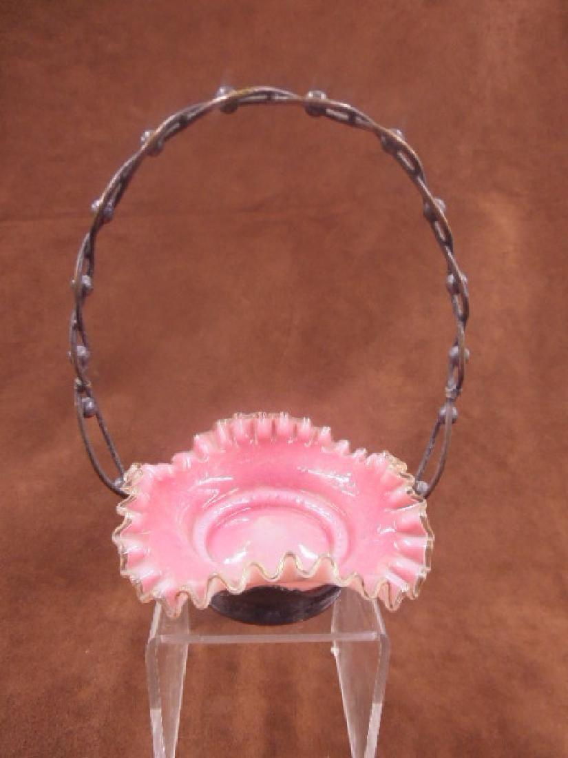 Miniature Victorian Brides Basket