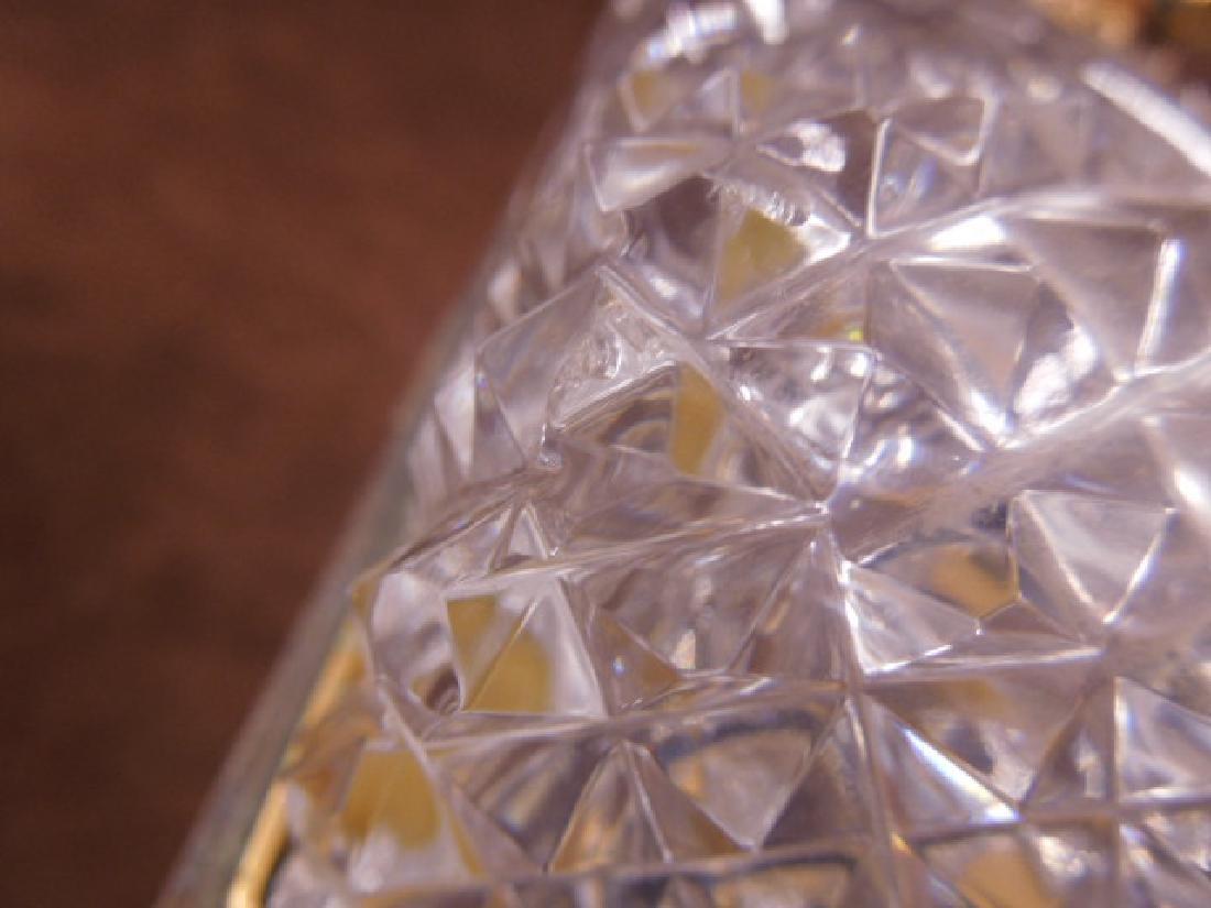 French Style Cut Glass Jewelry Casket - 8