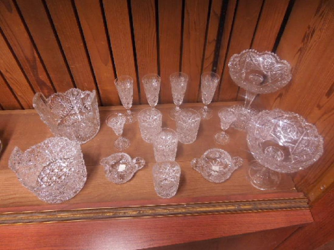 American Cut Glass Tableware