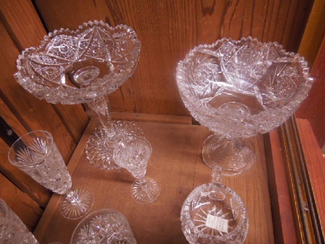 American Cut Glass Tableware - 2