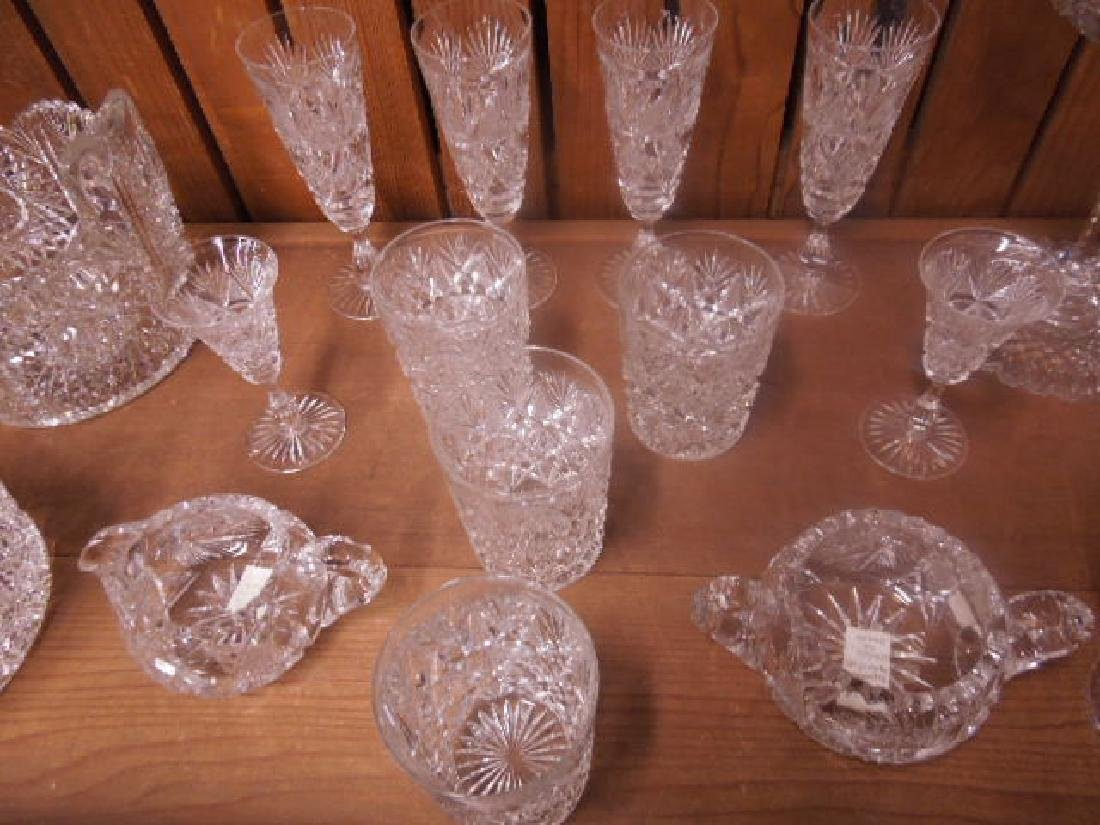 American Cut Glass Tableware - 3