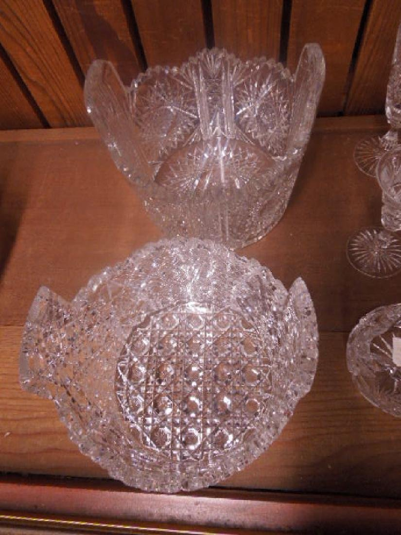 American Cut Glass Tableware - 4