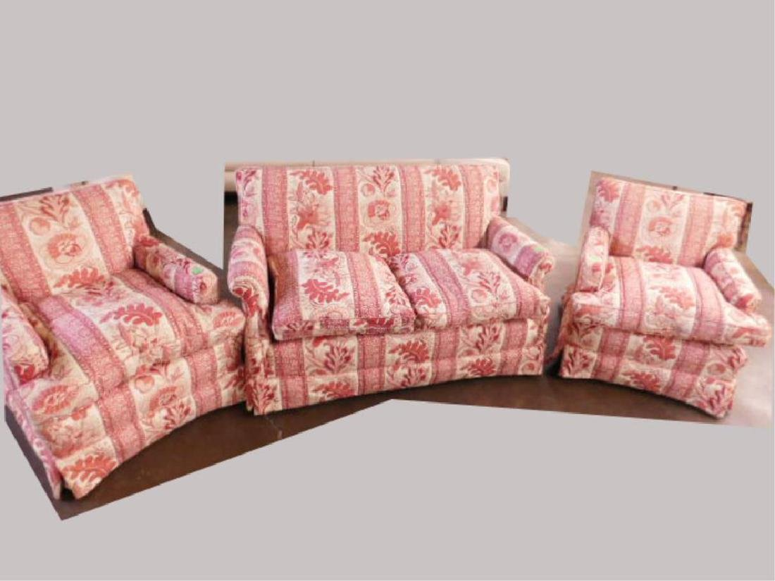Contemporary Upholstered Living Room Set