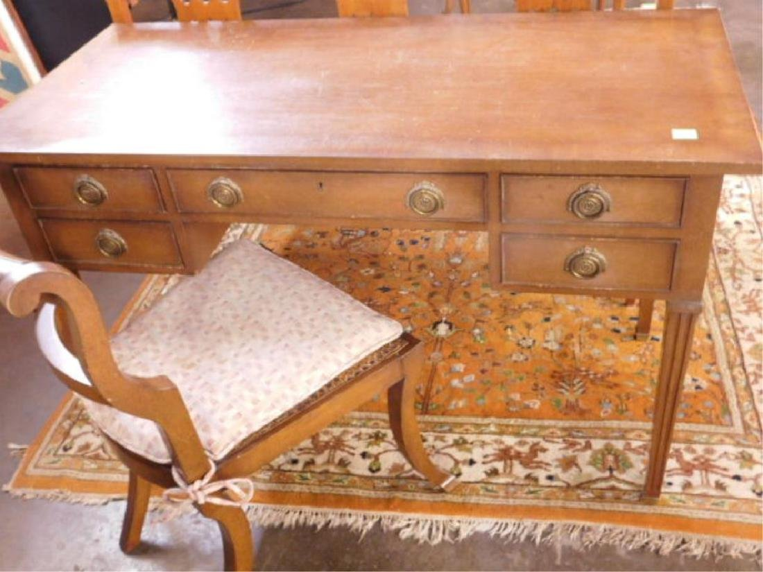 Federal Style Mahogany Vanity & Chair
