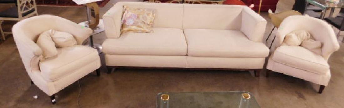 Thayer Coggin Inc. Three Piece Sofa Set
