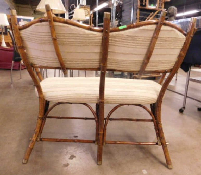 Antique Rustic Bentwood Love Seat - 2