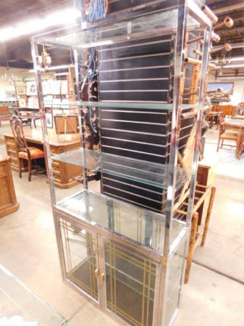 Modern Era Etagere & Cabinet Unit