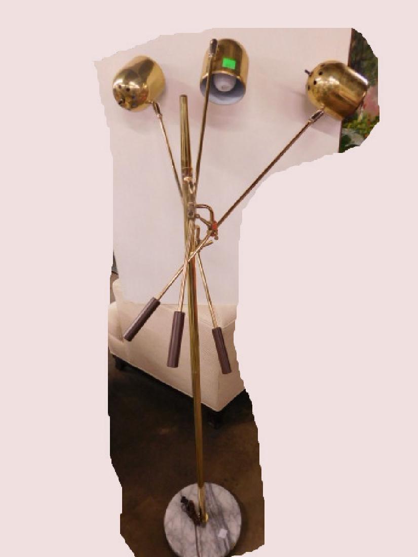 Arredoluce Style Brass Floor Lamp