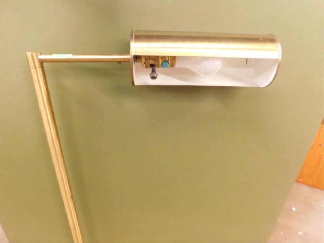 Nessen Studio Model 953 Brass Floor Lamp