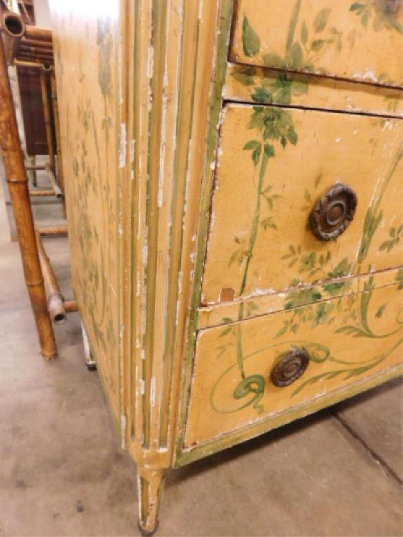 Regency Style Marble Top Dresser - 3