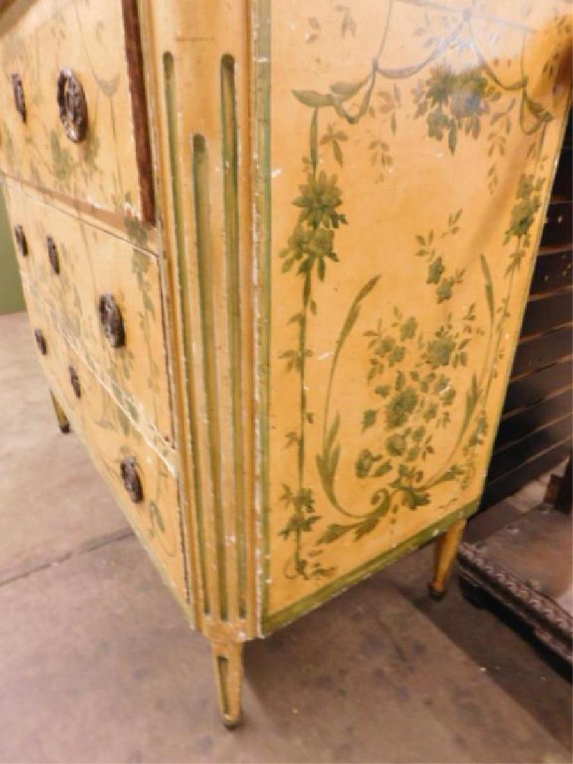 Regency Style Marble Top Dresser - 4