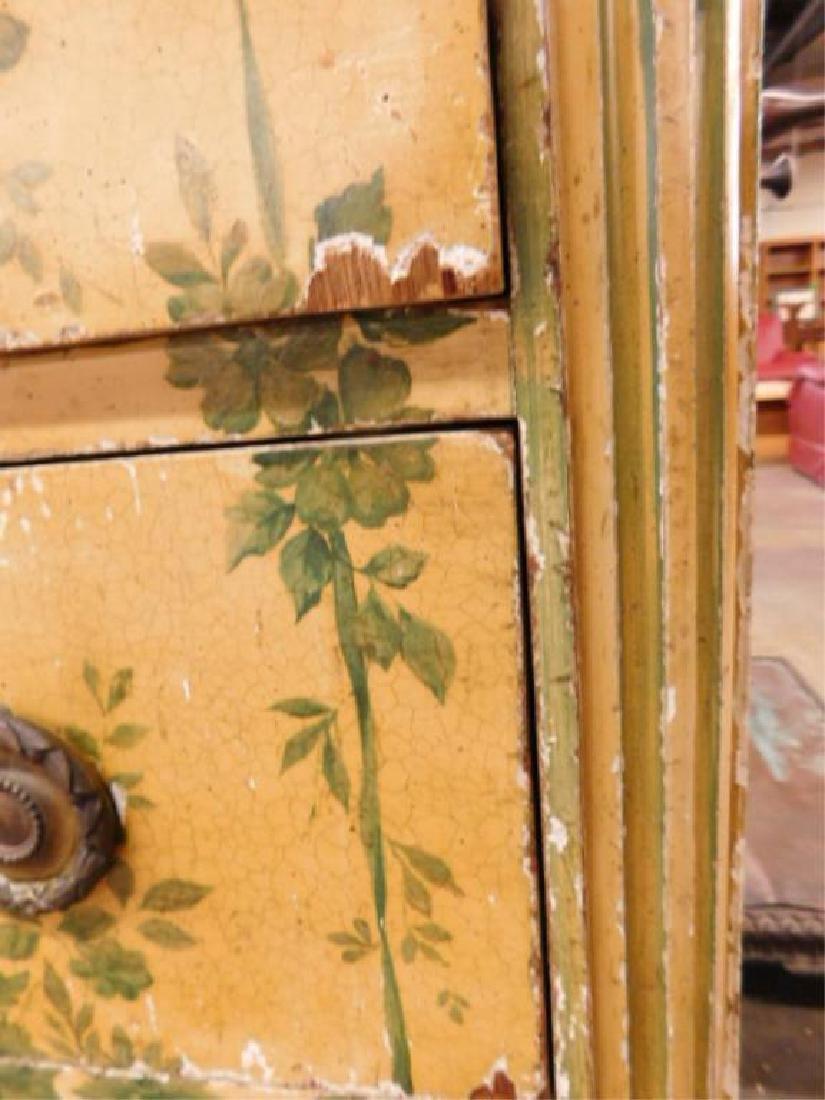 Regency Style Marble Top Dresser - 6