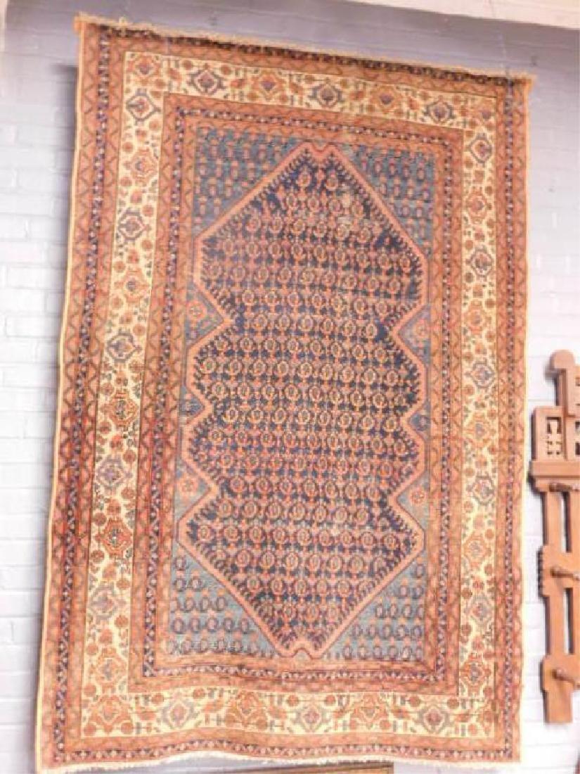 Antique Karabagh Area Carpet