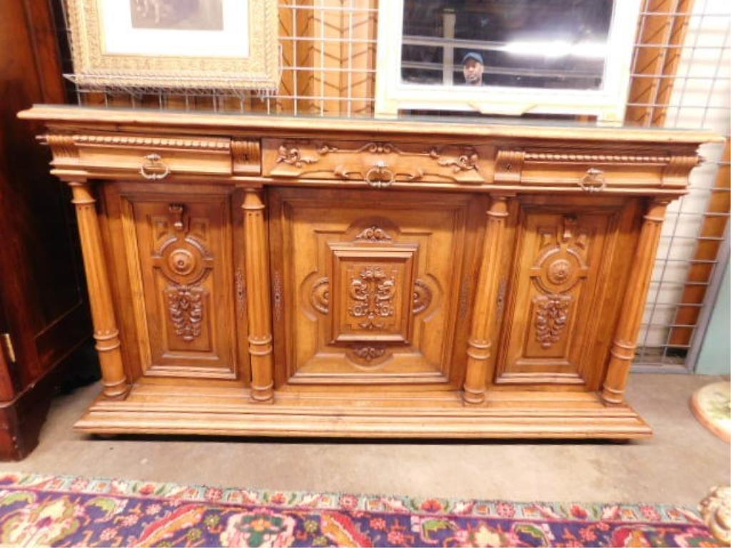 Renaissance Revival Walnut Sideboard