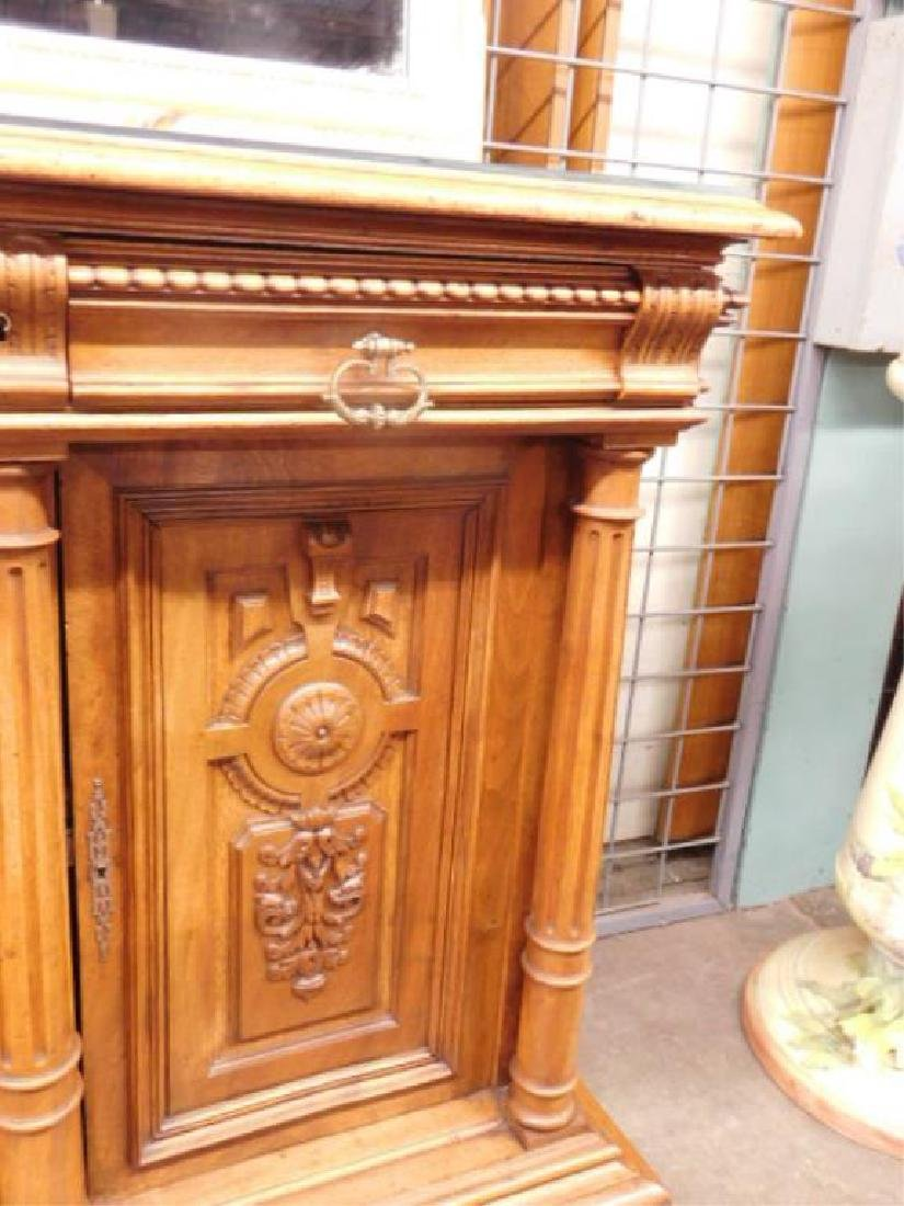 Renaissance Revival Walnut Sideboard - 4