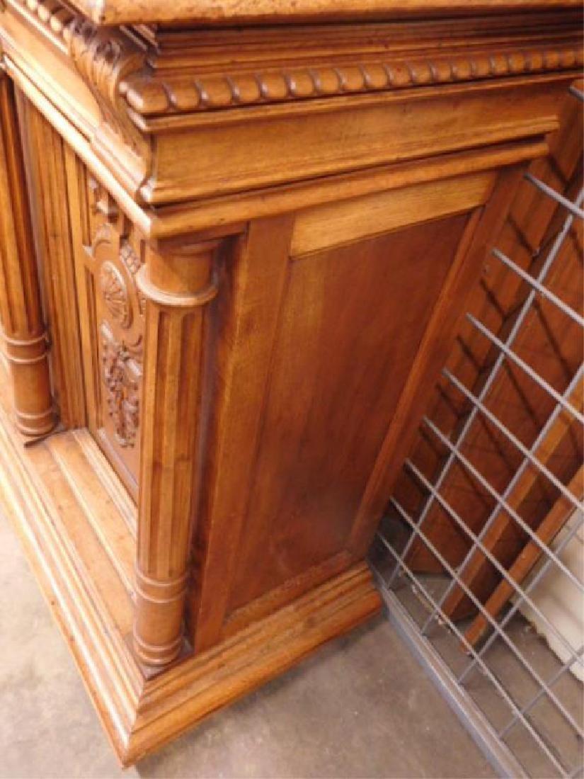 Renaissance Revival Walnut Sideboard - 5