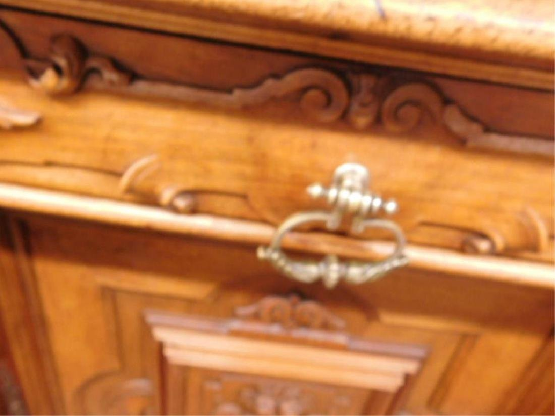 Renaissance Revival Walnut Sideboard - 6