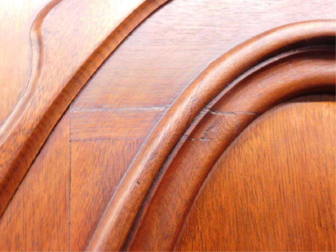Victorian Walnut Armoire - 7