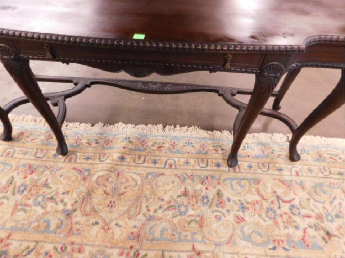 Queen Anne Revival Style Console Table - 2