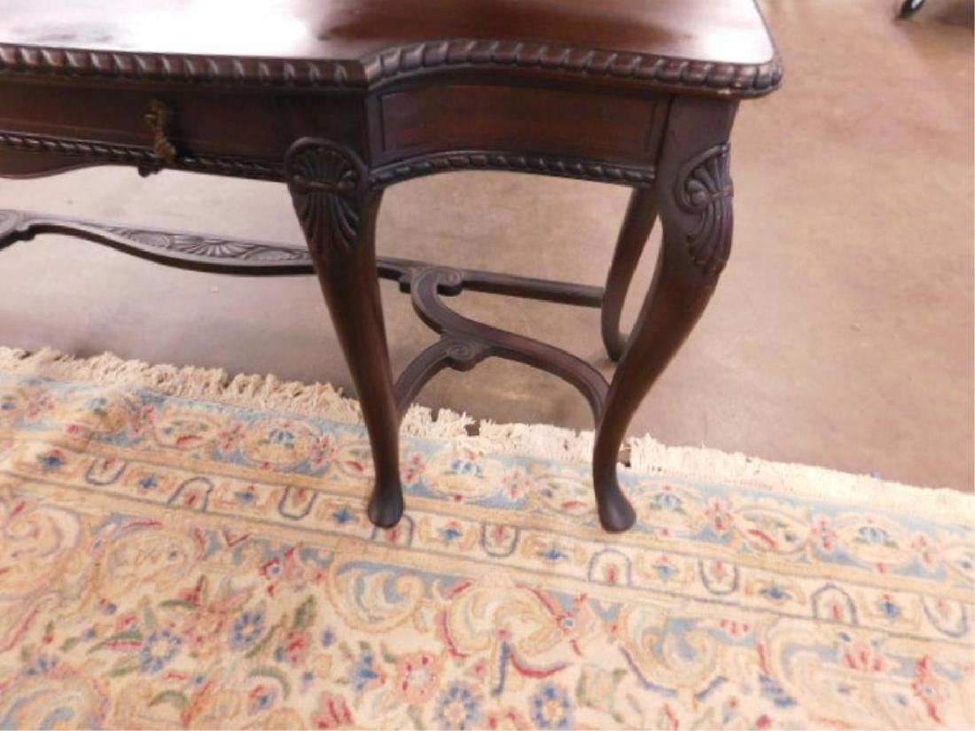 Queen Anne Revival Style Console Table - 3