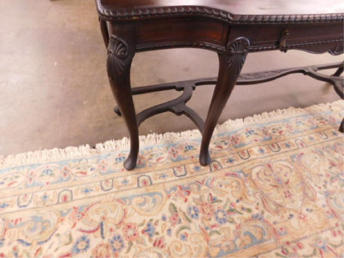 Queen Anne Revival Style Console Table - 4