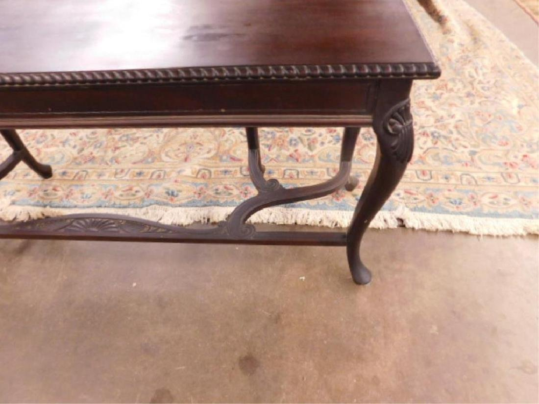 Queen Anne Revival Style Console Table - 5