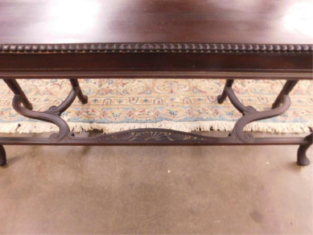 Queen Anne Revival Style Console Table - 6