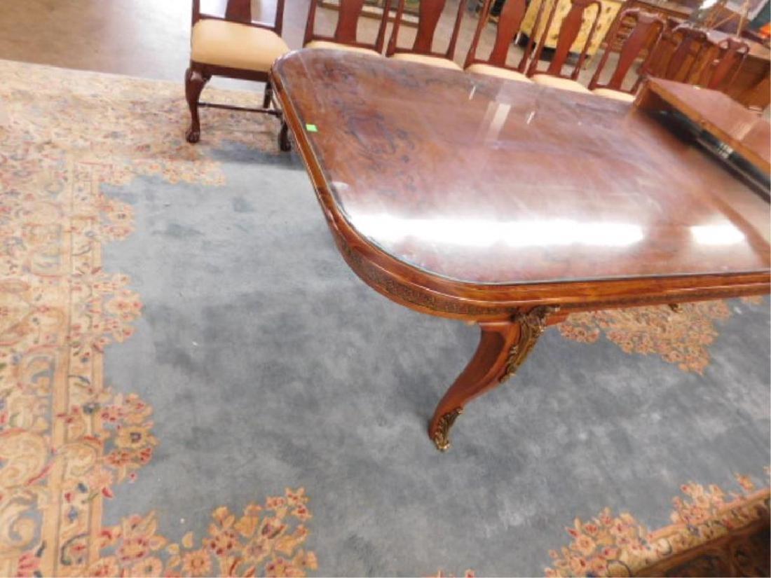 Louis XV Style Mahogany Banquet Table - 2