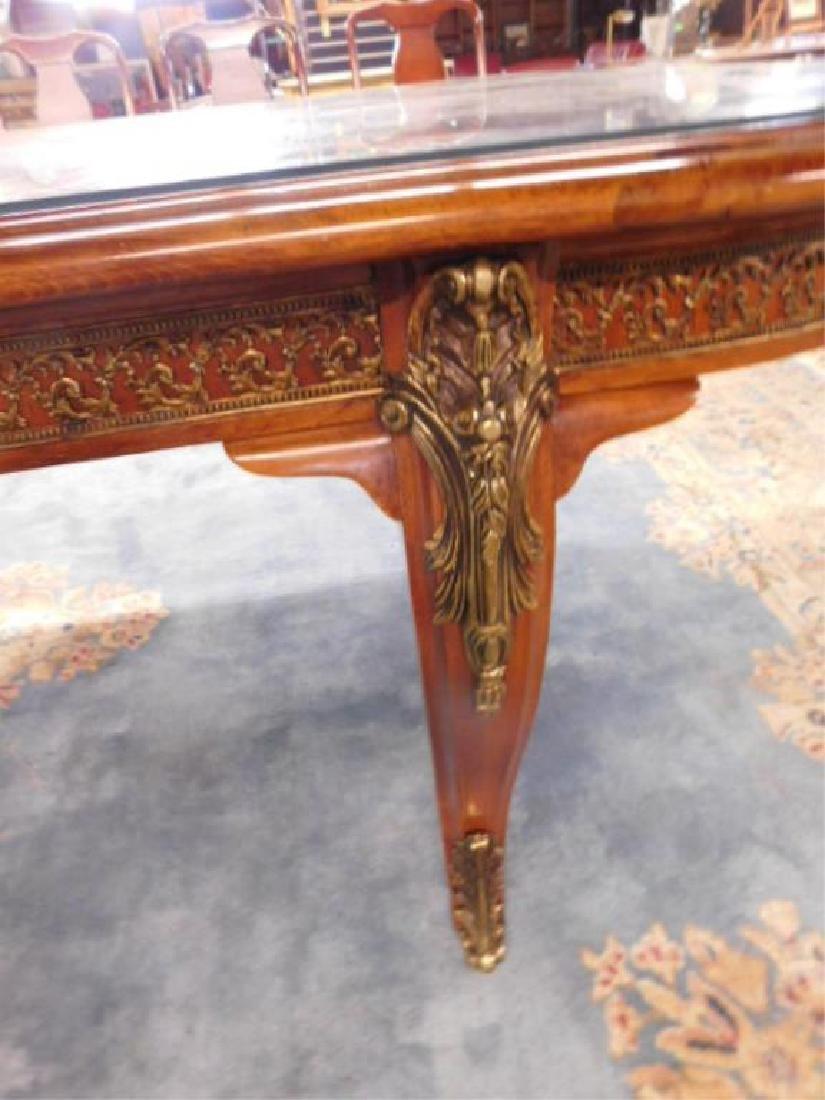 Louis XV Style Mahogany Banquet Table - 4
