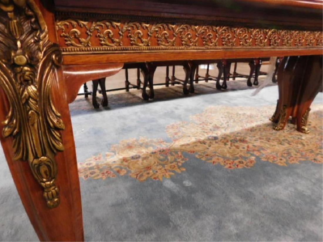 Louis XV Style Mahogany Banquet Table - 7