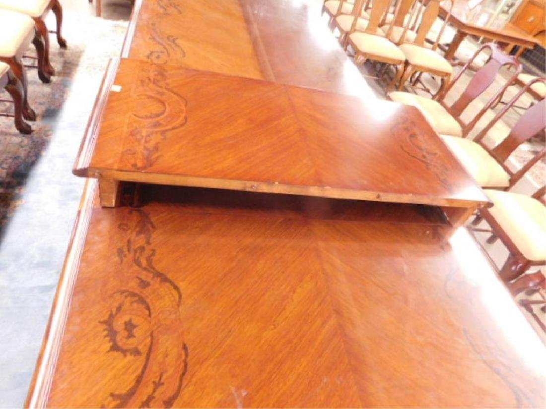 Louis XV Style Mahogany Banquet Table - 8