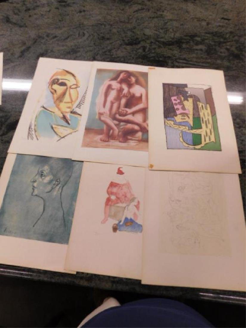 Portfolio of Picasso Drawings - 3