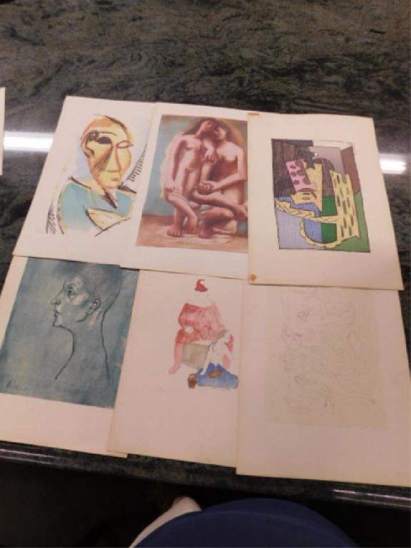 Portfolio of Picasso Drawings - 3