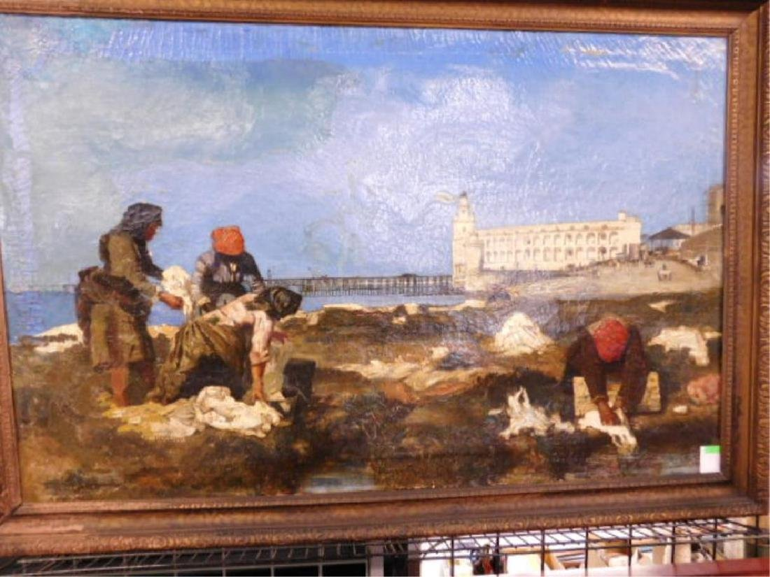 Joan Berg Signed Oil Painting