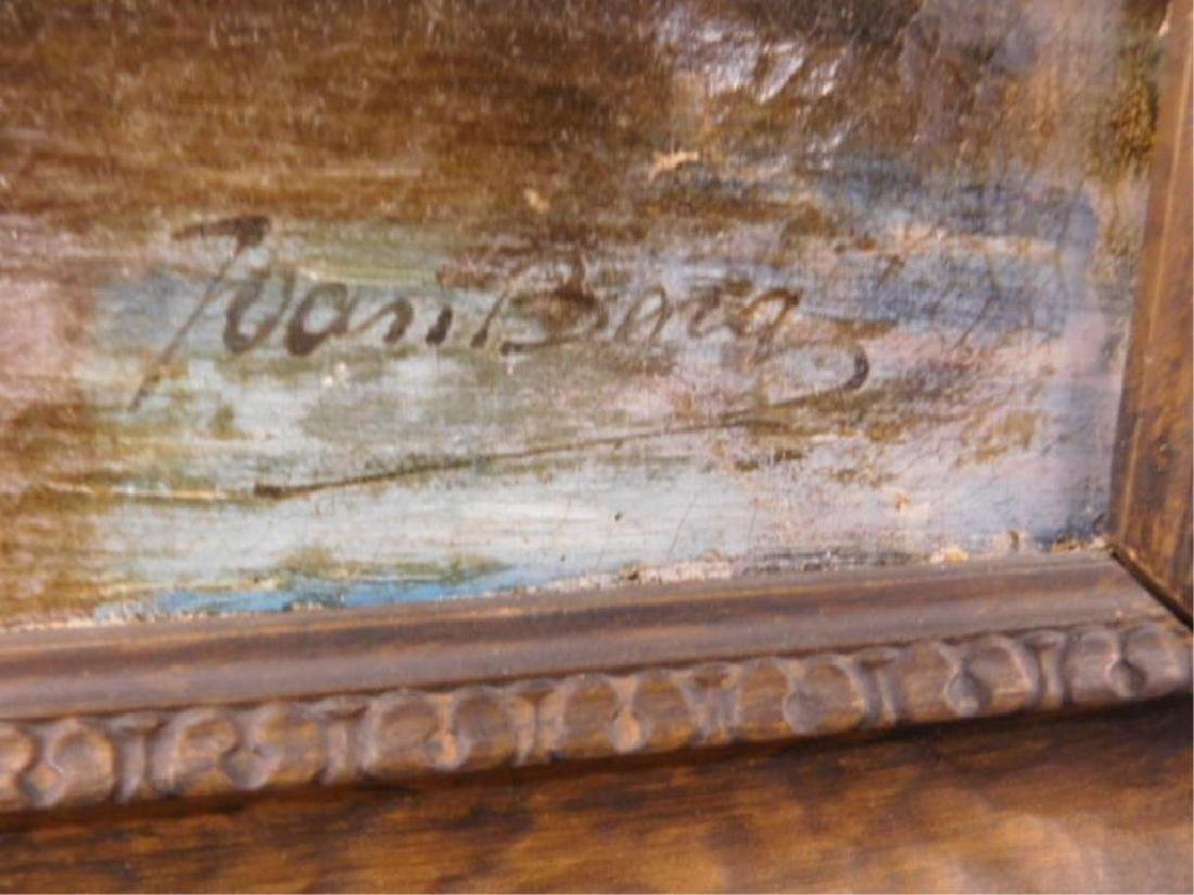 Joan Berg Signed Oil Painting - 2