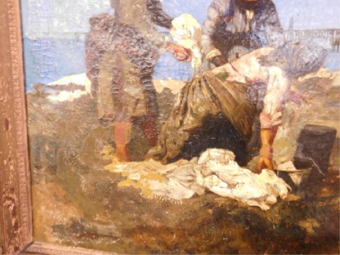 Joan Berg Signed Oil Painting - 6